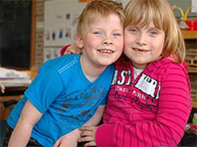 Kinder In School