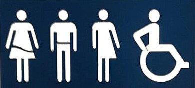 Bordje Toilettten