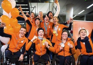 Paralympiers Terug