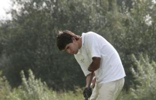 Golfende Man