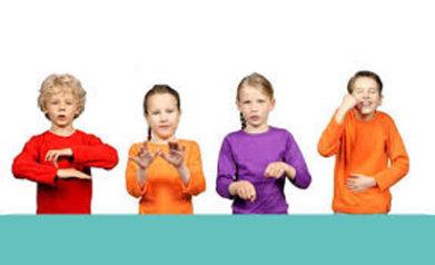 Kinderen Spreken Gebarentaal