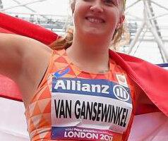 Van Gansewinkel Beste Para-atlete
