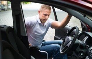 Gehandicapte Chauffeur